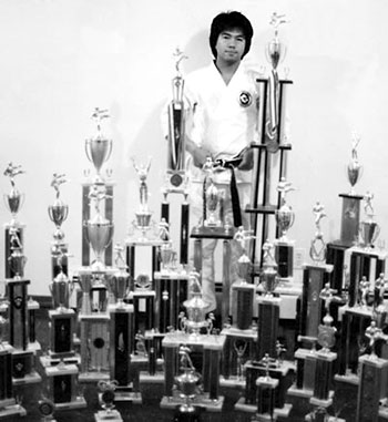 Shihan Leung's awards from the early '80s